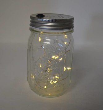 Jar Lid String Lights Battery Operated