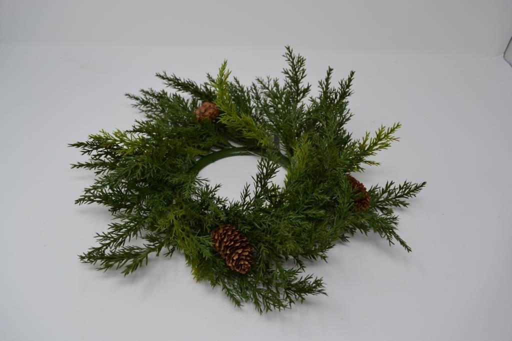 Arborvitae Candle Ring