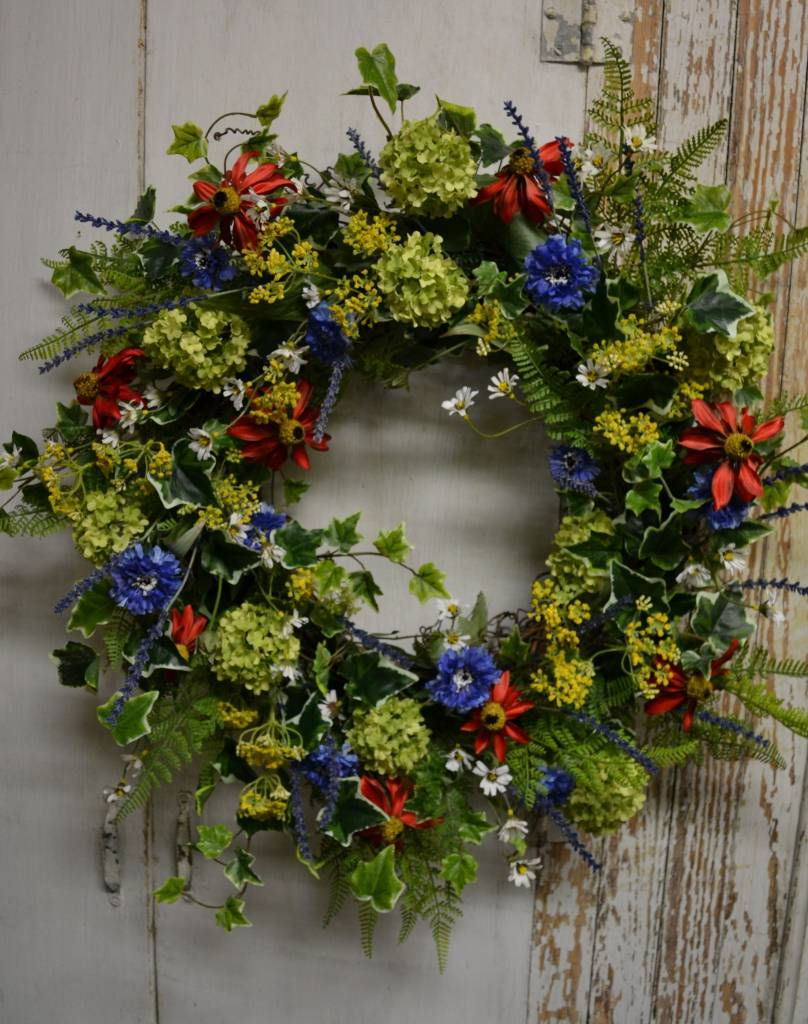 Custom Summer Wreath