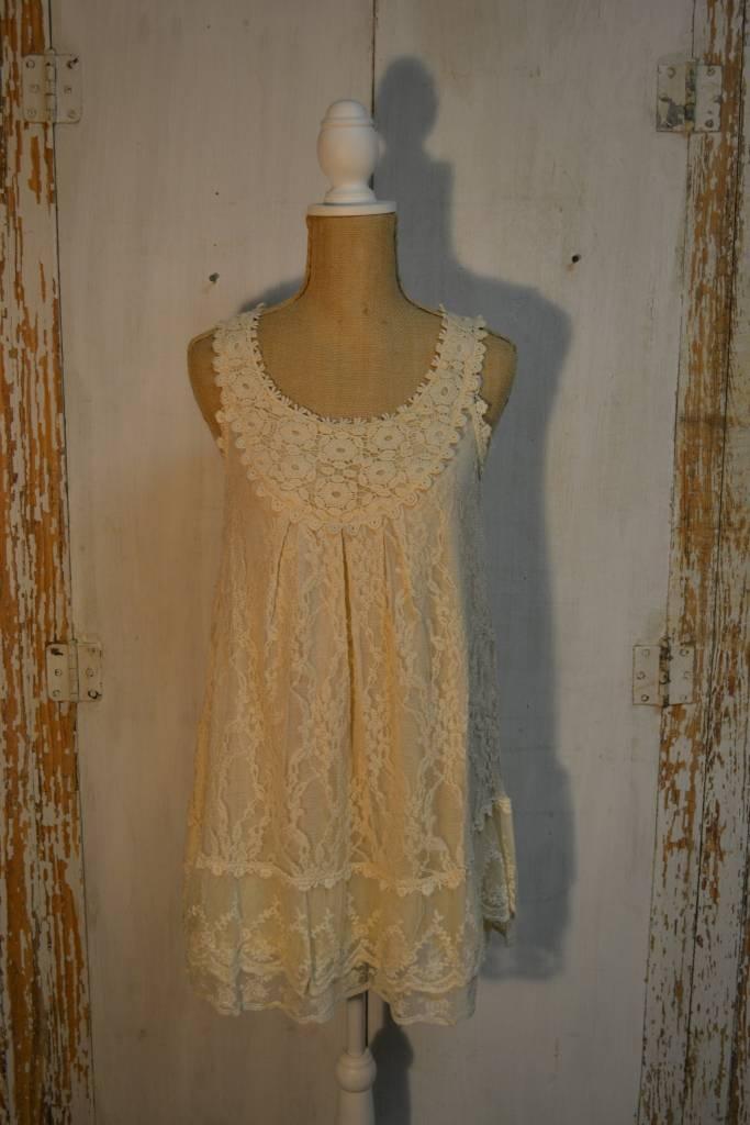 Crochet Bib Lace Tunic