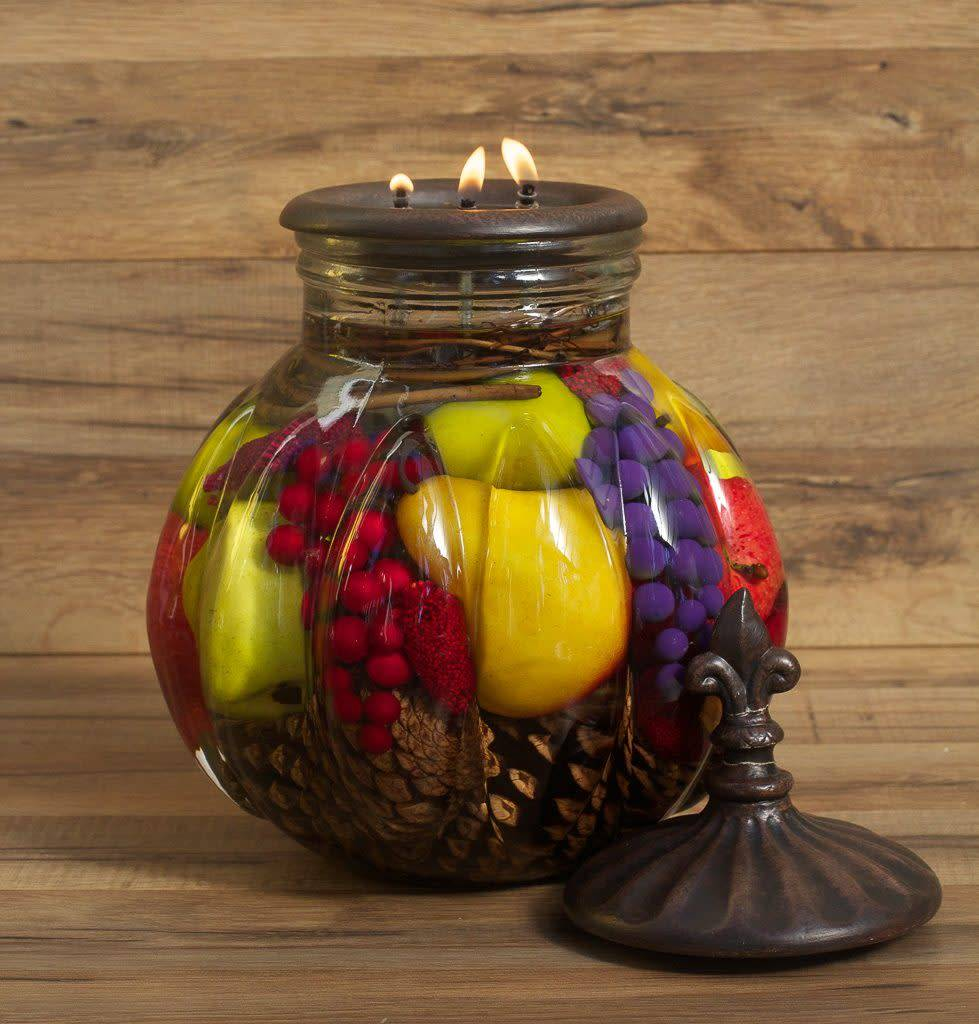 Fruit Bowl Lifetime Candle