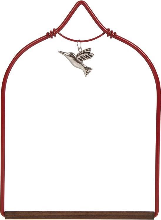 Red Charm Hummingbird Swing