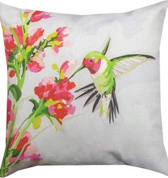 Anna Hummingbird Pillow