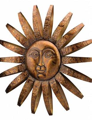 Sedona Metal Sun Face