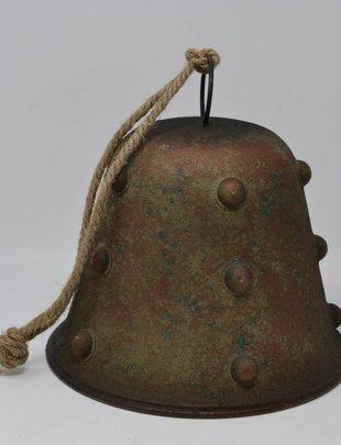 Large Verdi-Gris Metal Bell