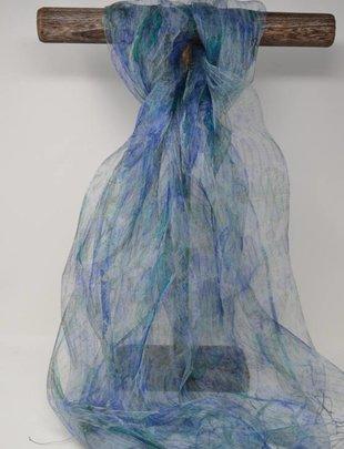 Oversized Handmade Silk Scarf