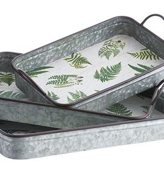 Galvanized Fern Tray (3 Sizes)