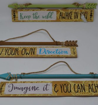 Wooden Arrow Sign (3 Styles)
