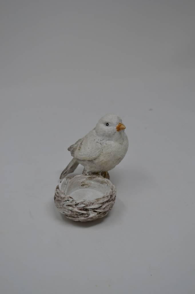 Winter Bird Votive Holder (2-Styles)