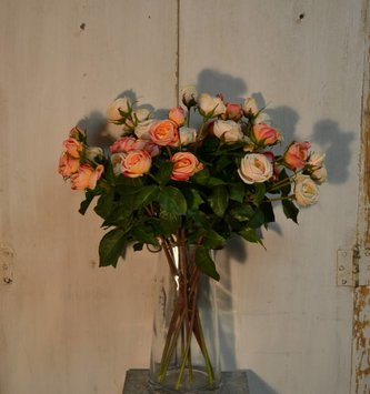 Natural Touch Heritage Rose Spray (3 Colors)