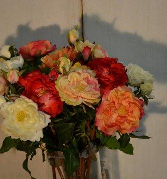English Ruffle Rose (4 Colors)