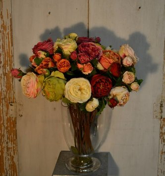 English Rose Bloom (9-Colors)