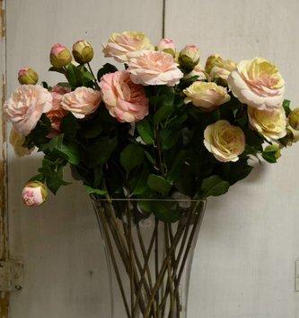 Camellia Rose Spray (3 Colors)