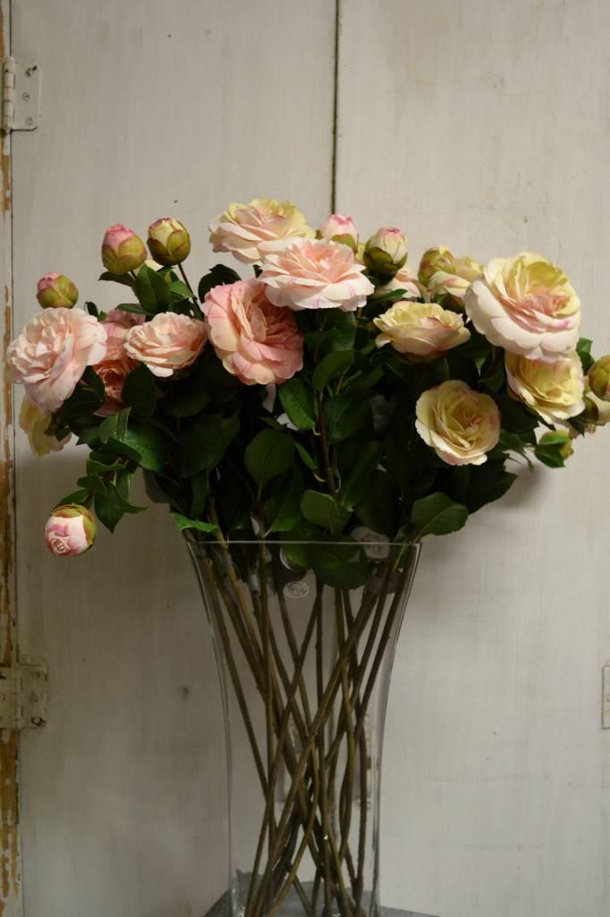 Camellia Rose Spray