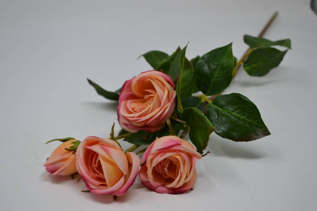 Natural Touch Heritage Rose Spray (2 Colors)