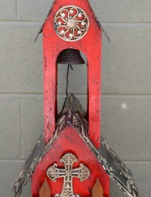 Red Casita Lorenzo Birdhouse