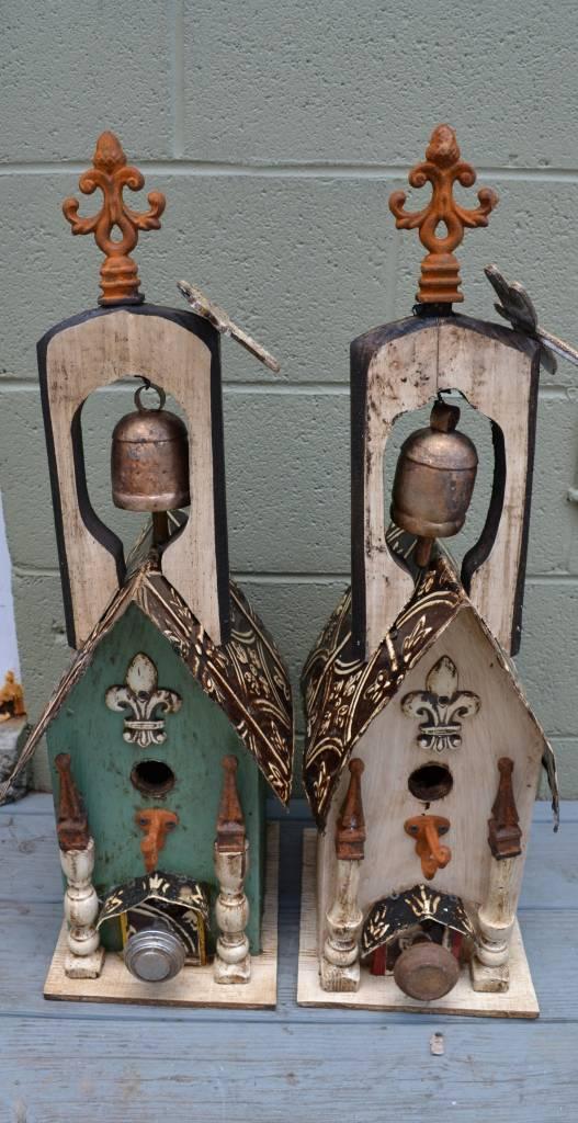 Dragonfly Bell Lorenzo Birdhouse