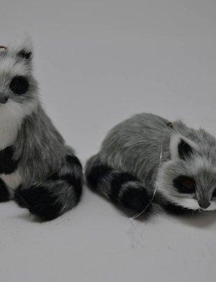 Furry Raccoon Ornament (2 Styles)