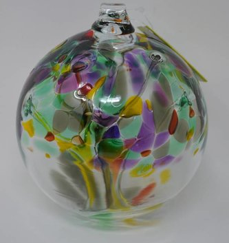 "Garden Route 6"" Hanging Glass Tree of Life Orb (6-Styles)"