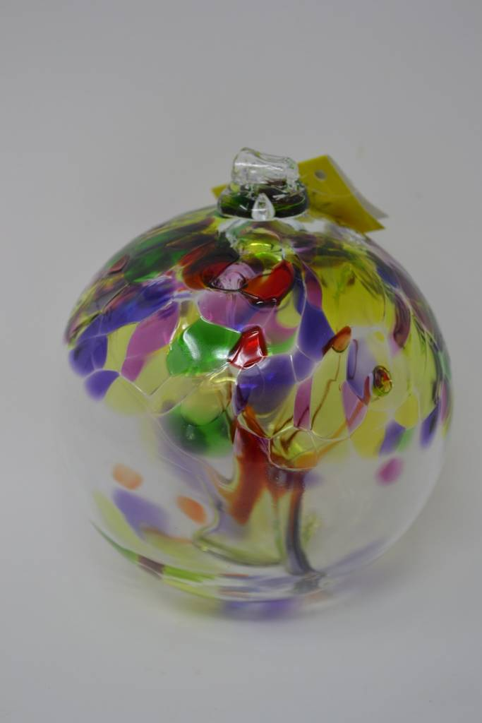 "6"" Hanging Glass Tree of Life Orb (6-Styles)"