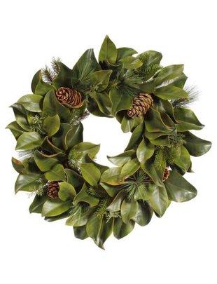 """24"""" Magnolia Pine Wreath"""