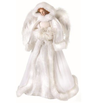 "16"" Winter Angel Tree Topper"