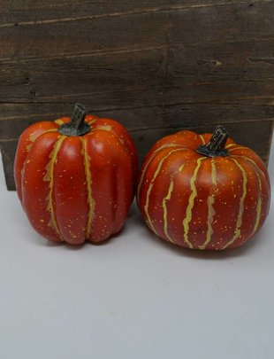 "4"" Harvest Pumpkin (2 Styles)"