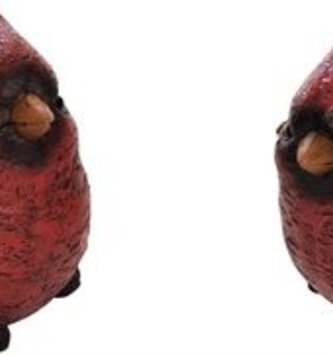 Set of 2 Holly Cardinals