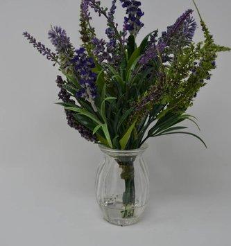 """11"""" Lavender in Glass"""