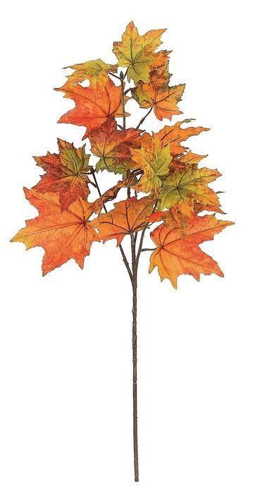 Autumn Maple Leaf Spray