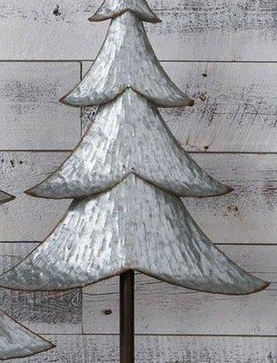 "29"" Galvanized Rustic Christmas Tree"