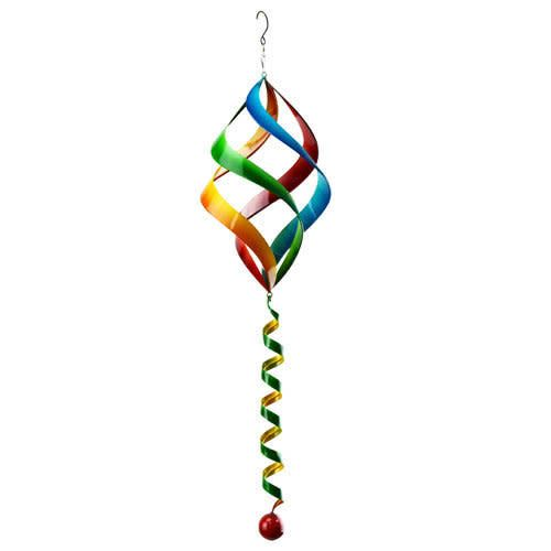 Hanging Multicolor Spinner with Spiral