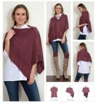 Bordeaux Wrap (14 Colors)