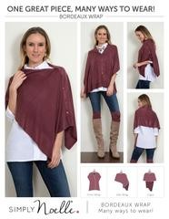 Simply Noelle Bordeaux Wrap (14-*Colors)