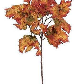 Golden Maple Leaf Spray