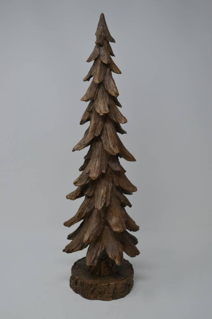 """19"""" Rustic Brown Tree on Base"""