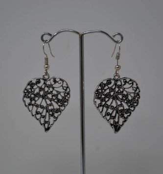 Scroll Leaf Earrings