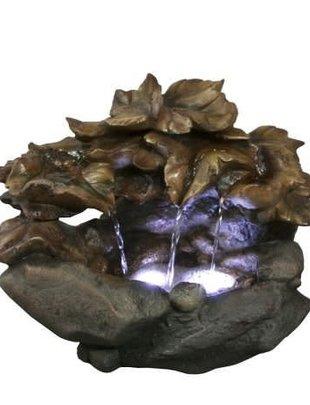 Cascading Leaf Fountain