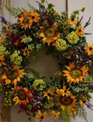 Custom Indian Summer Wreath