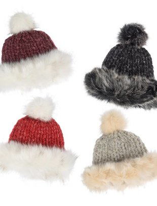 Faux Fur Hat (4 Colors)