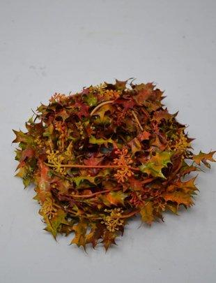 9' Mini Fall Leaves Garland