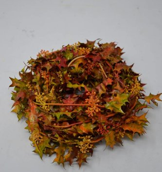 9' Mini Fall Leaves Garland