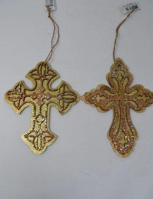 Cork Cross Ornament (2 Styles)