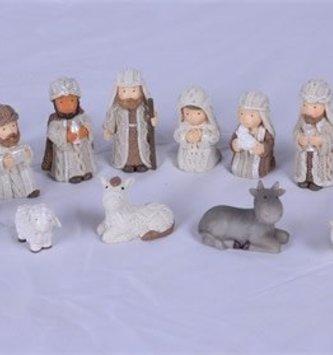 11-Piece Cable Knit Nativity Set