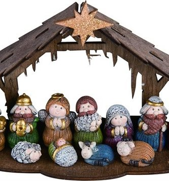 12 Piece Mini Nativity