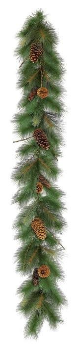 6' Sugar Pine Garland