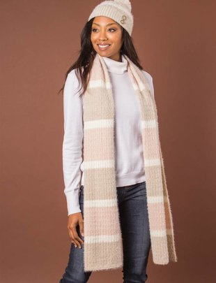 Striped Soft Touch Scarf