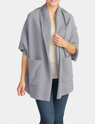 Cozi Pocket Cardi Wrap (2 Colors)