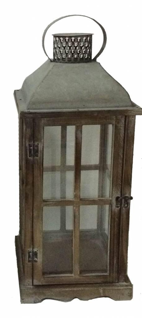 Antique Tin Roof Lantern