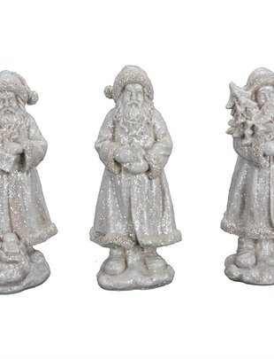 Frosted Vintage Santa (3 Styles)